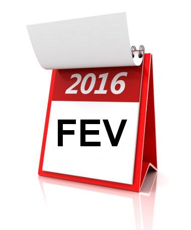 O ano de 2016 é bissexto, isto é, nesse ano, o mês de fevereiro apresenta 29 dias