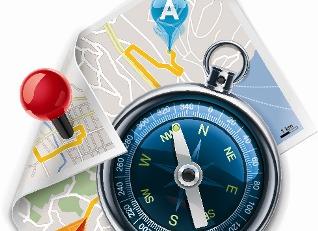 Os instrumentos de localização permitem a orientação das pessoas no espaço geográfico