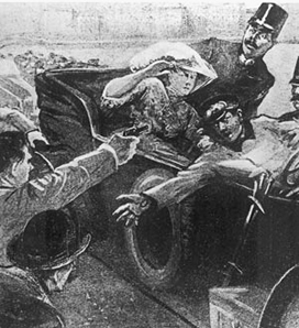 O assassinato do arquiduque Francisco Ferdinando foi o início da I Guerra Mundial