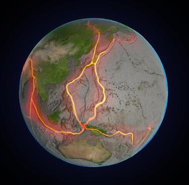 As placas tectônicas estão sempre em movimento e isso provoca alterações na superfície