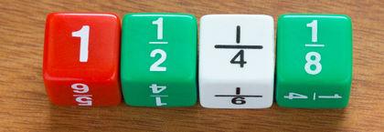 Frações em sua representação usual: divisão do numerador pelo denominador