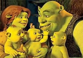 Família – o primeiro contato social da criança - Sherek (Disney)