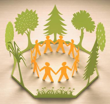 A sustentabilidade objetiva o equilíbrio entre sociedade e natureza
