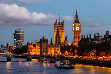 Londres, um dos principais centros comerciais do planeta