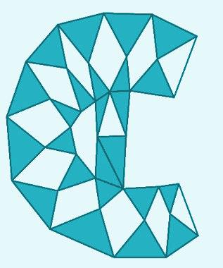 Símbolo usado para representar o conjunto dos números complexos