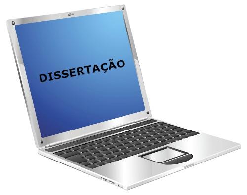 A dissertação é um texto cujo objetivo é refletir, informar alguém a respeito de um tema/assunto