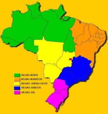 Regiões e estados brasileiros
