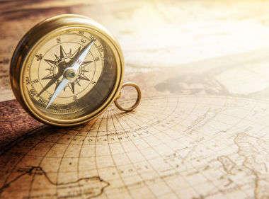 As latitudes e longitudes são utilizadas para a localização