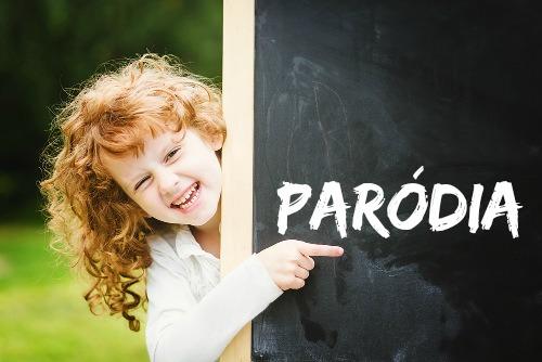 Paródia é um texto criado a partir de outro texto com o objetivo de fazer com que o leitor reflita criticamente a respeito das práticas sociais