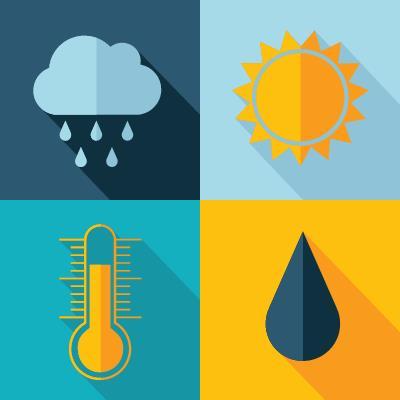 O clima é resultante da combinação de vários elementos climáticos