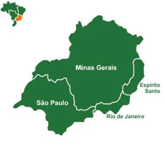 Estados da Região Sudeste