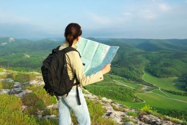 A Leitura dos mapas é muito importante para orientar a nossa localização em lugares desconhecidos