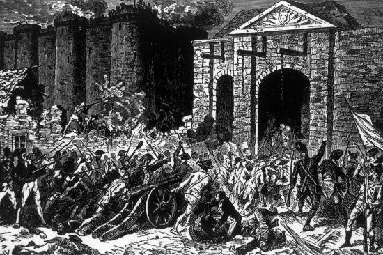A Queda da Bastilha, que aconteceu em 14 de julho de 1789, marcou o início da Revolução Francesa.