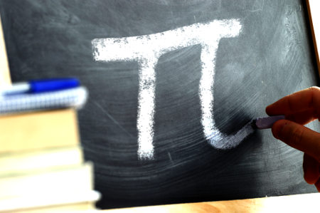 Letra grega usada para representar o valor de pi