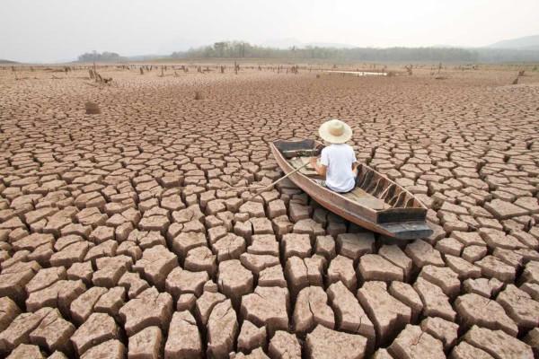 As mudanças climáticas têm alterado o clima em todo o planeta, provocando mudanças no ciclo da água e aumento da seca.