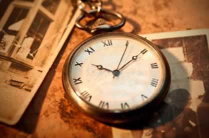 A divisão dos tempos históricos não é exata como a divisão do tempo dos relógios