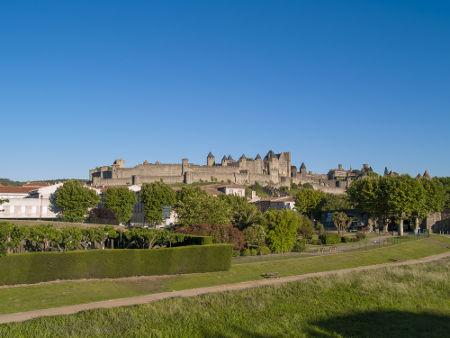 O castelo de Carcassonne foi um dos principais pontos de defesa cátaros atacados pela Igreja Católica na Cruzada albigense