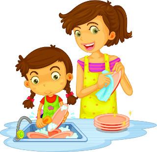 Como será que o sabão ajuda a água na lavagem dos pratos?