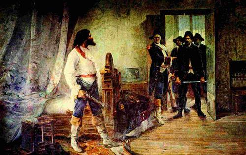 Tiradentes foi um dos participantes da Inconfidência Mineira