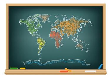 Os mapas ajudam-nos a conhecer o mundo e suas características