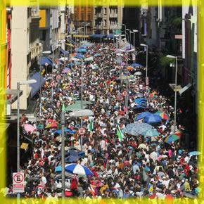 Avenida 25 de Março - São Paulo