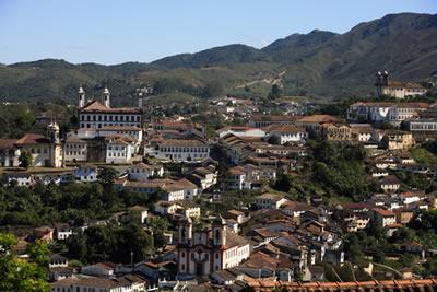 Ouro Preto, local de mineração e urbanização no período colonial