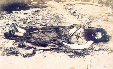 Imagem de Antônio Conselheiro morto