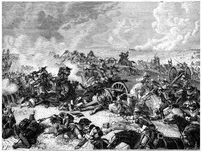 A Batalha de Waterloo, travada em 1815, selou o fim da Era Napoleônica