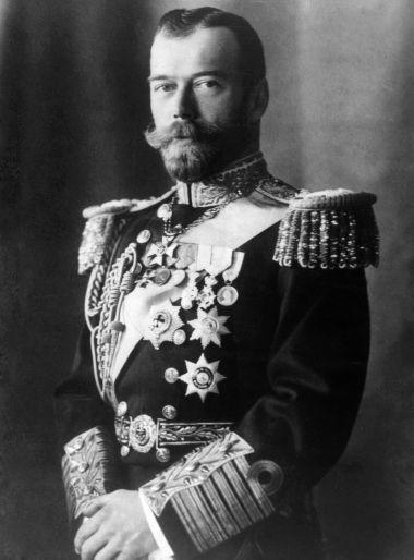 Acima, imagem de Nicolau II, o último czar russo
