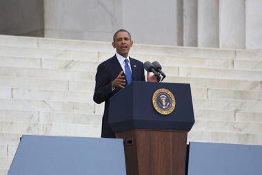 A crise financeira de 2008 teve que ser enfrentada por Barack Obama, presidente dos EUA, eleito no fim de 2008 *