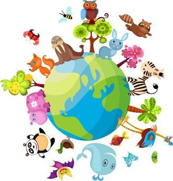 Biosfera é a camada da Terra habitada pelos seres vivos