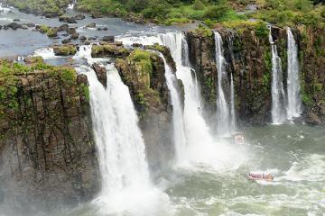 O Parque Nacional do Iguaçu é um exemplo de área de conservação