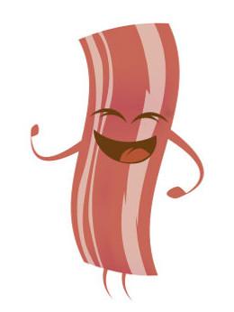 Você sabia que o bacon é um tipo de carne processada?
