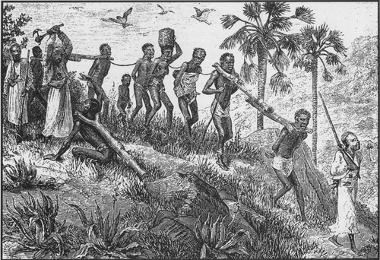 A prática da escravidão já existia no continente africano muito antes de os europeus começarem o tráfico transatlântico