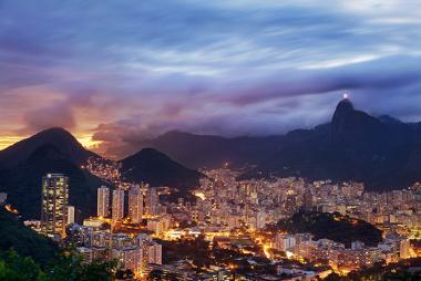 Rio de Janeiro, exemplo de cidade que passou pelo processo de conurbação