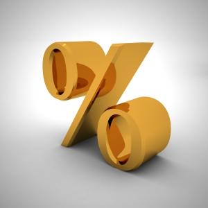 Símbolo que indica porcentagem