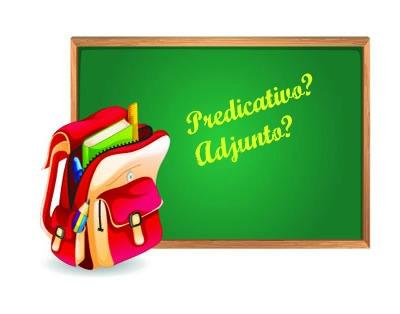 O predicativo e o adjunto adnominal são demarcados por diferenças específicas
