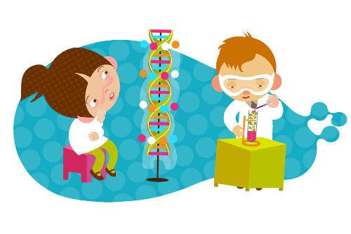 A Genética é a ciência responsável pelo estudo dos nossos genes