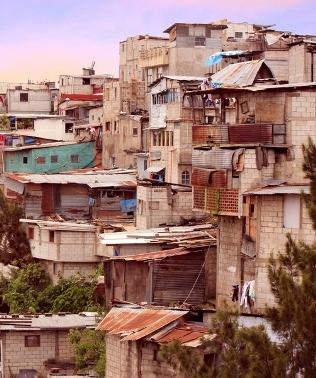 Exemplo de uma formação em favela
