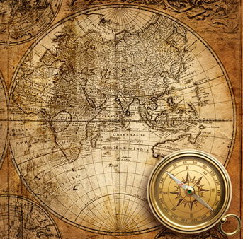 O aperfeiçoamento dos instrumentos de navegação auxiliou a realização da expansão marítima europeia