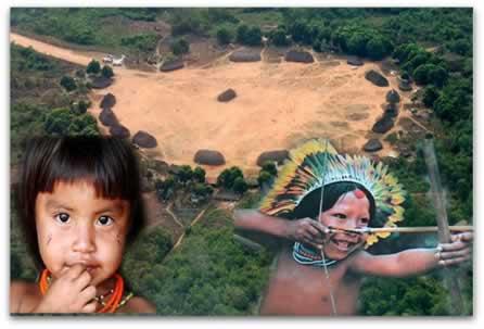 Brincadeiras e diversões fazem parte do dia a dia das crianças indígenas