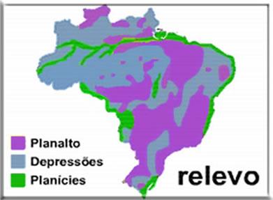 Relevo Brasileiro Caracteristicas Do Relevo Brasileiro Escola Kids