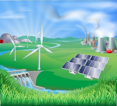 As várias fontes de energia que existem no mundo