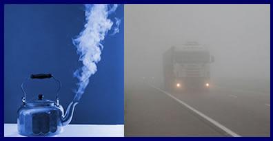 Estado Gasoso - Fumaça e Neblina