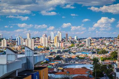 Megacidade de São Paulo, uma das maiores do planeta