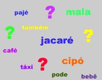 A intensidade da pronúncia revela a denominação