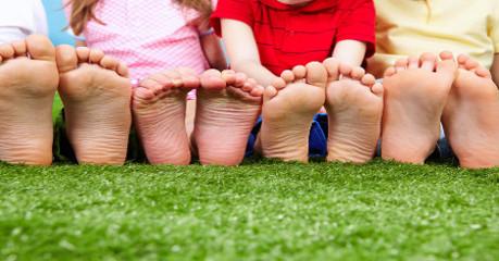 Relação entre o número que você calça e o tamanho de seu pé.