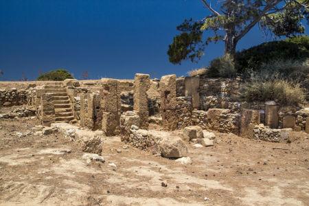 Ruínas fenícias de Motia, um centro comercial construído pelos fenícios no Sul da Itália