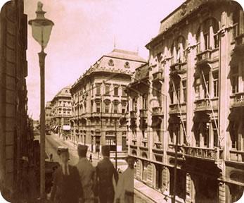 História da iluminação pública no Brasil: da iluminação à base de óleos à luz elétrica.