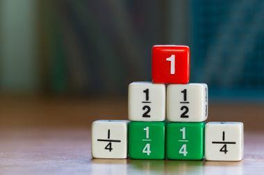 Frações: representação de uma divisão de números inteiros